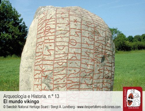estelas historiadas piedras rúnicas vikingos