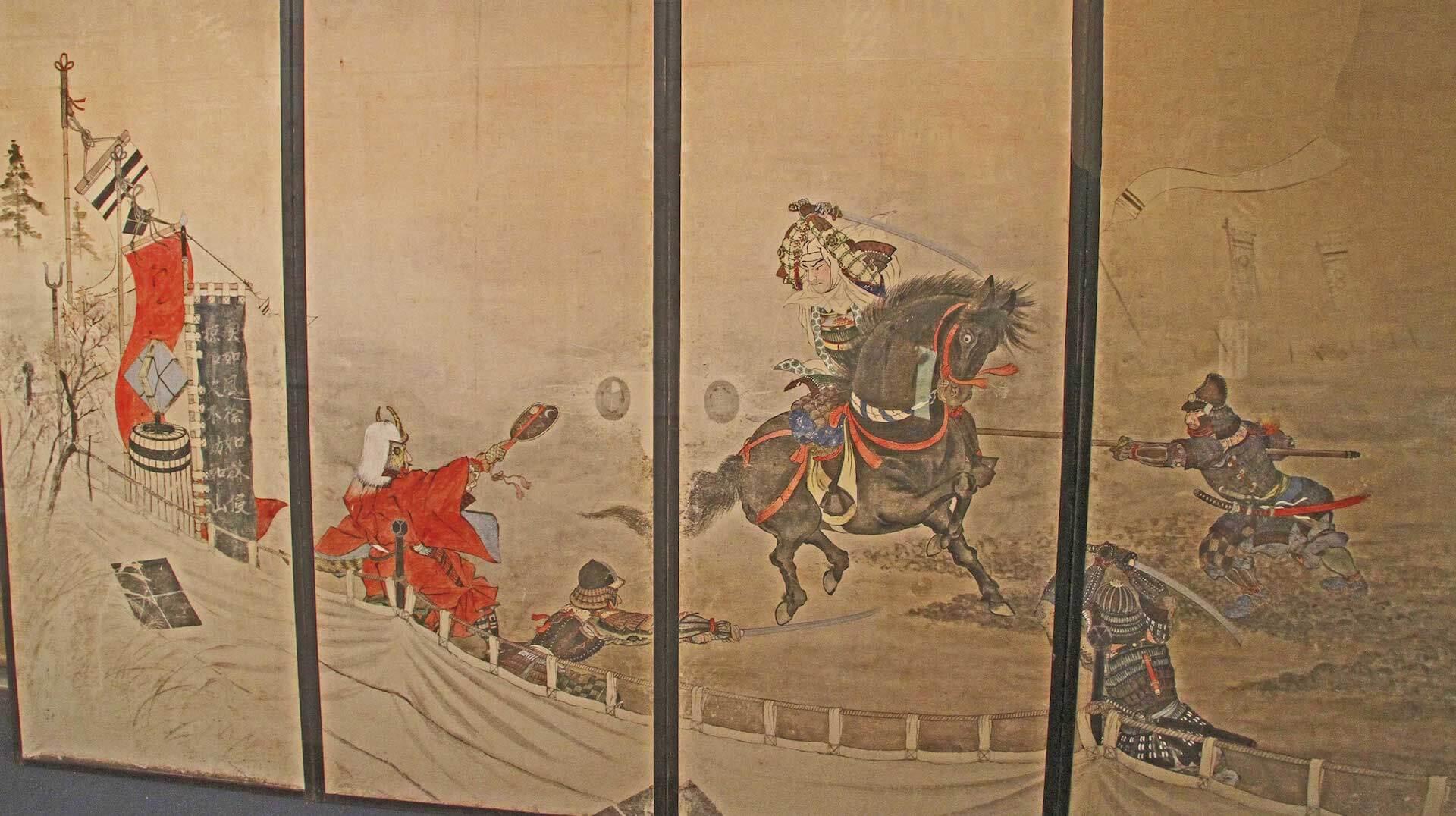 Ikkiuchi Takeda Shingen contra Uesugi Kenshin