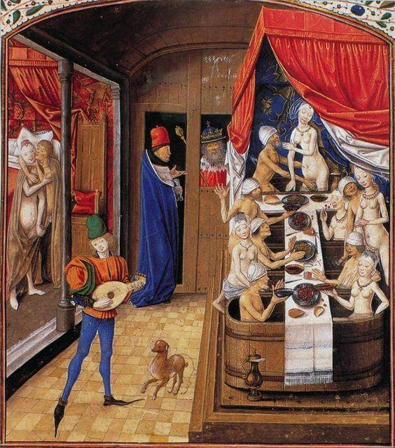 burdel sexo medieval