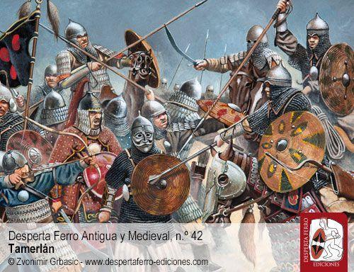 Toqtamish batalla del río Térek