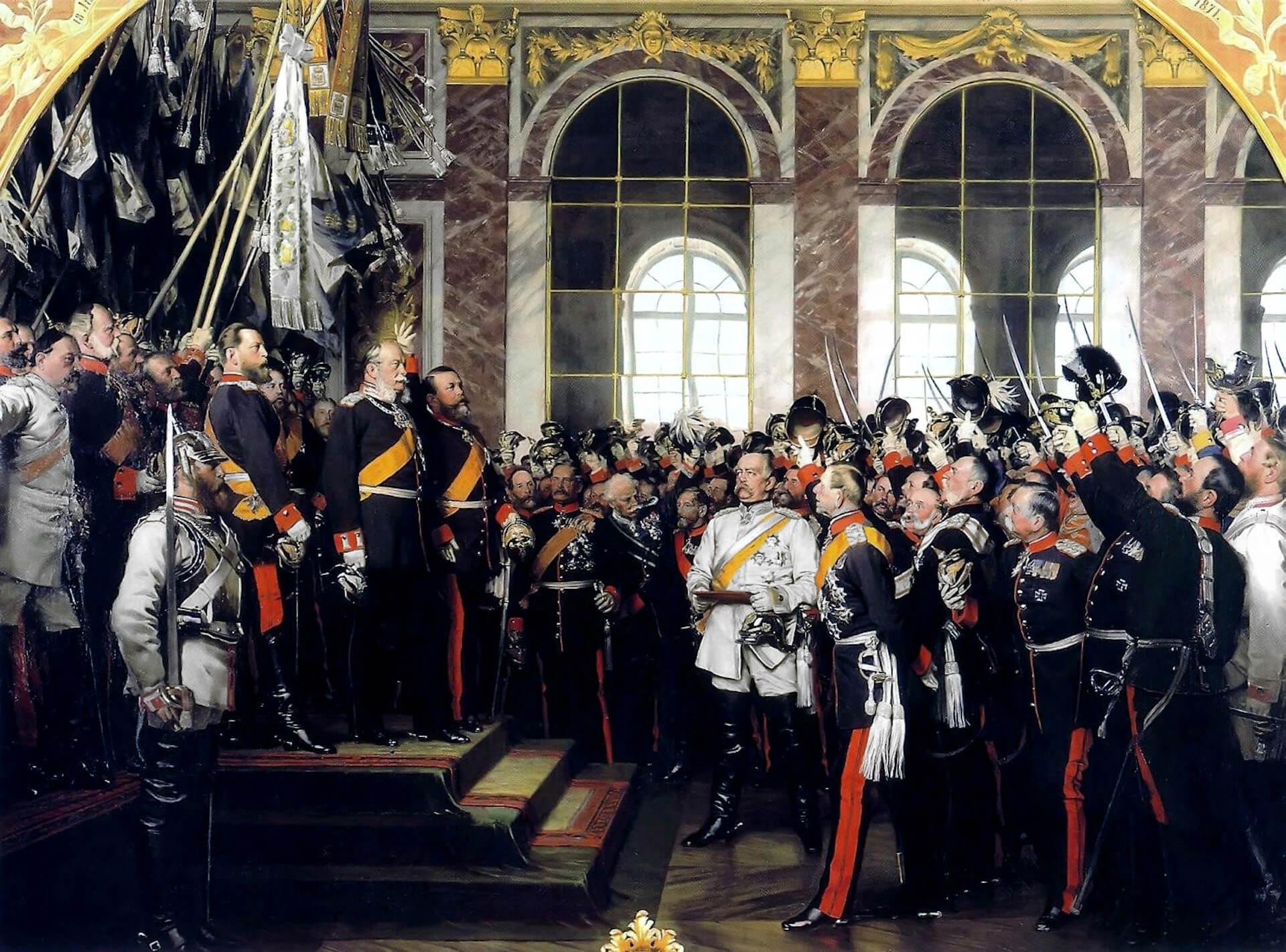 Proclamación II Reich