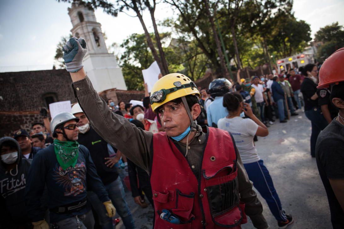 Ayuda a México terremoto