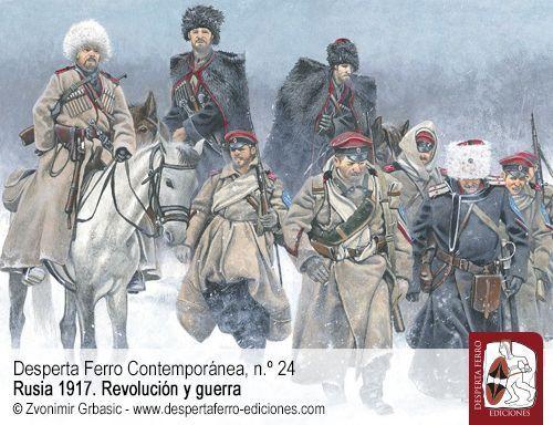 La insurgencia cosaca y el origen del Ejército Voluntario