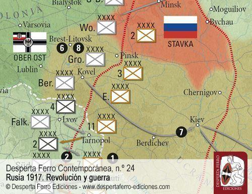 El Tratado de Brest-Litovsk
