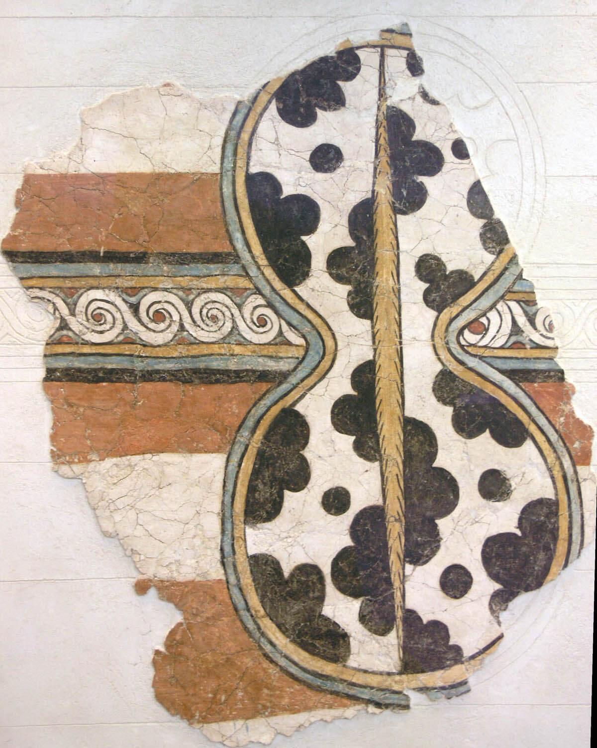 escudo micénico