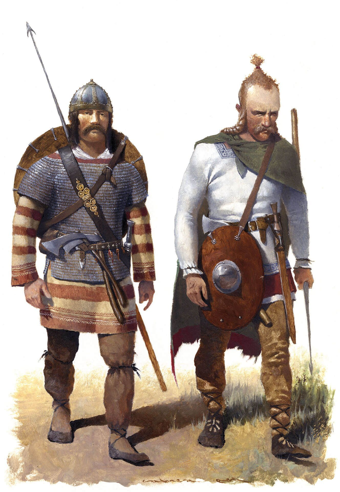 guerreros francos siglo V