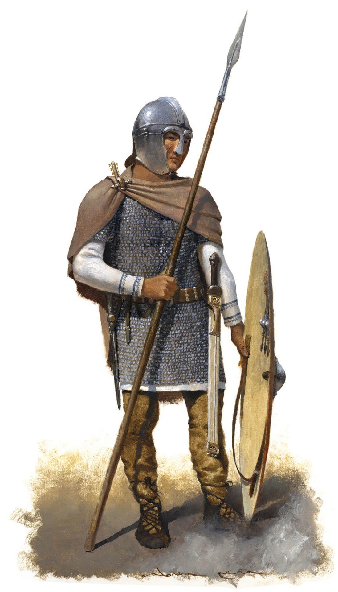 Legionario romano del siglo V