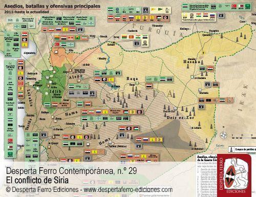 Siete años de Guerra Civil siria por Tom Cooper