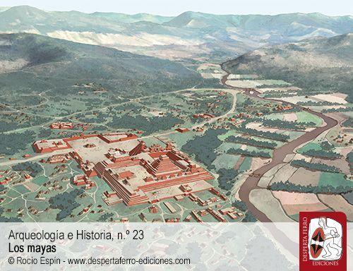 Entre el suelo y el cielo. Notas acerca del urbanismo y arquitectura de los antiguos mayas por Alejandro Villalobos Pérez (INAH / UNAM)