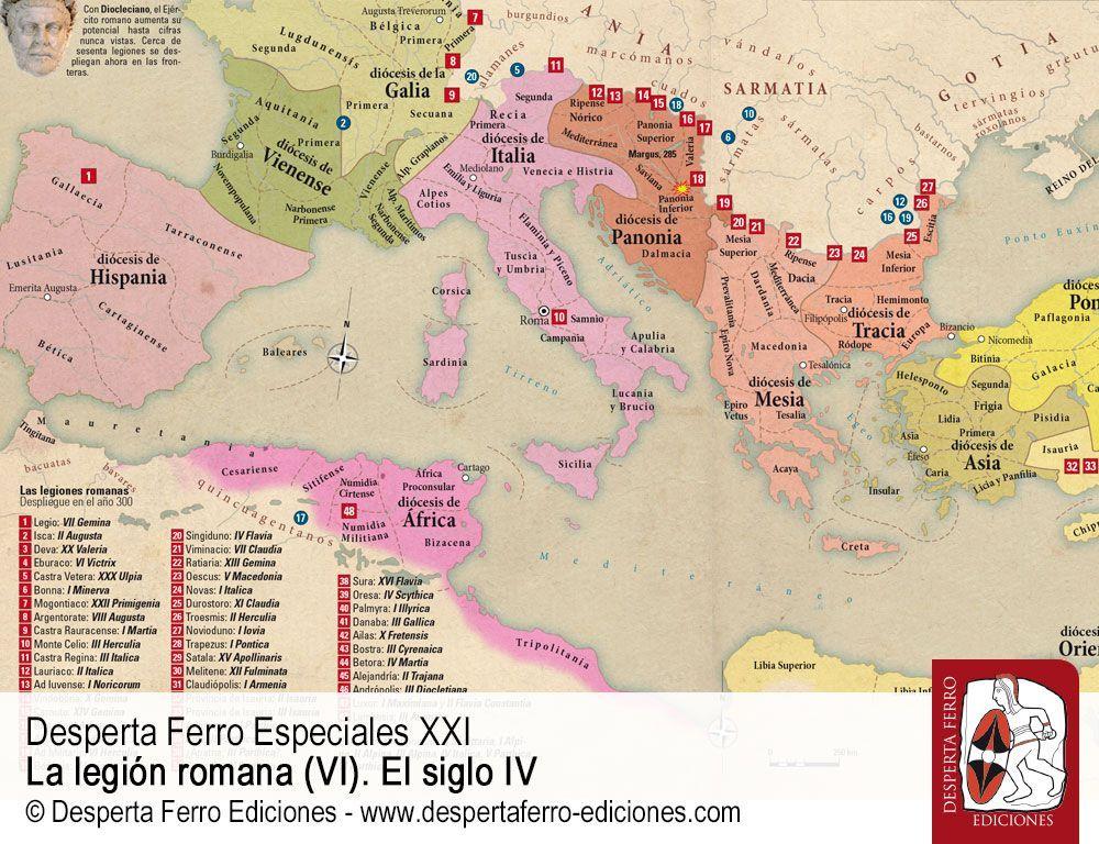 Legión romana en el siglo IV Las reformas de Diocleciano y Constantino y el nuevo modelo de Ejército por Philip Rance (Freie Universität Berlin)