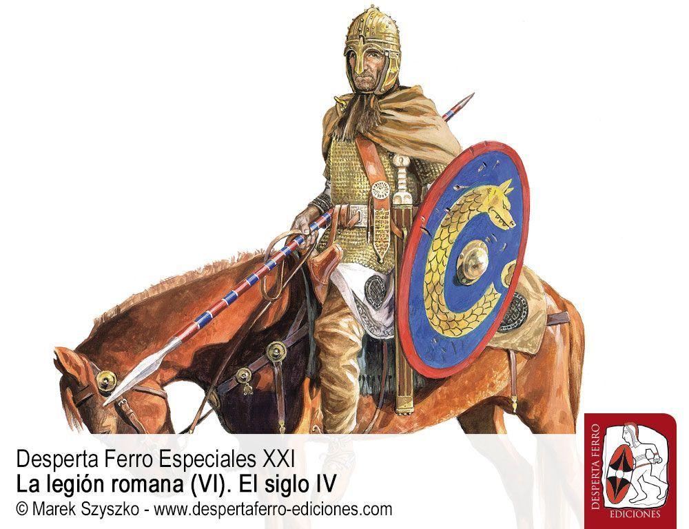 Unidades de élite en el Ejército romano del siglo IV por A. Raúl Menéndez Argüín