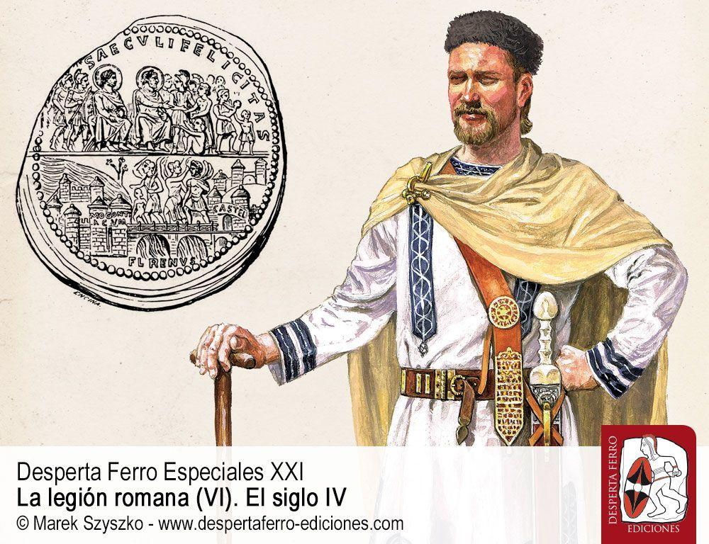 La puerta entreabierta. La barbarización del Ejército Romano por Thomas S. Burns (Emory College)