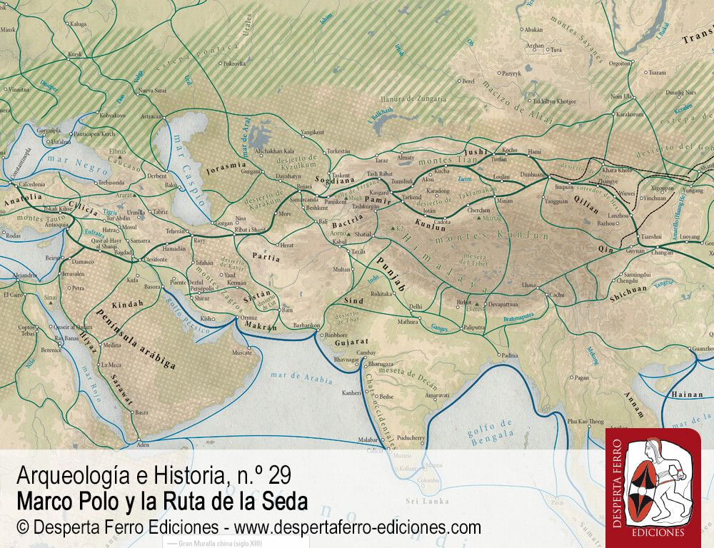 En el corazón de Asia. La Ruta de la Seda en la historia por Peter Frankopan (Oxford University)