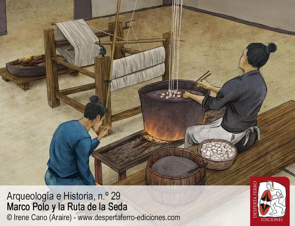 El comercio en la Ruta de la Seda (siglos XI-XV) por Ralph Kauz (Universität Bonn; Nanjing University) en Marco Polo y la Ruta de la Seda