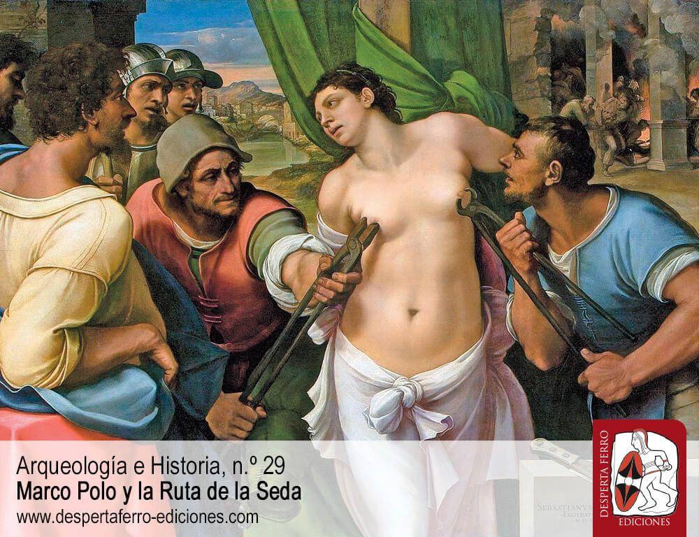 Y además, introduciendo el n. º 30, Erotismo y muerte en la arena. Una aproximación al martirio cristiano desde la perspectiva de género por Clelia Martínez Maza (Universidad de Málaga)