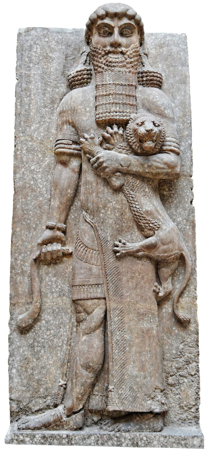 palacio de Sargón II en la ciudad asiria de Dur-Sharrukin