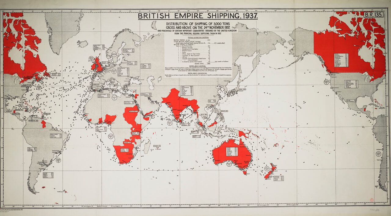Imperio global de Gran Bretañ