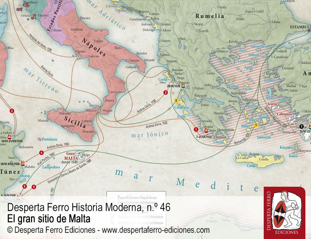 Guerra santa en el Mediterráneo. La cruz contra la media luna por Hüseyin Serdar Tabakoğlu –Kırklareli Üniversitesi
