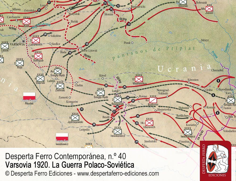 Del Berézina a Varsovia. El avance soviético por Jan Stanisław Ciechanowski (Uniwersytet Warszawski)