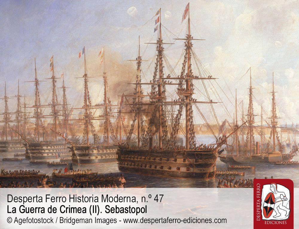 Guerra de Crimea, la primera guerra moderna por Andrew Lambert (King's College London)