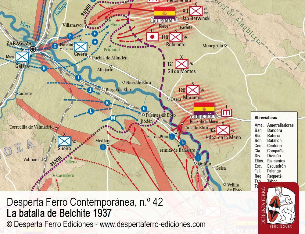 La ofensiva sobre Zaragoza batalla de Belchite por Fernando Puell de la Villa (Instituto Universitario General Gutiérrez Mellado (UNED))