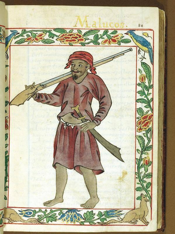 guerrero de las Molucas codice boxer chabacano