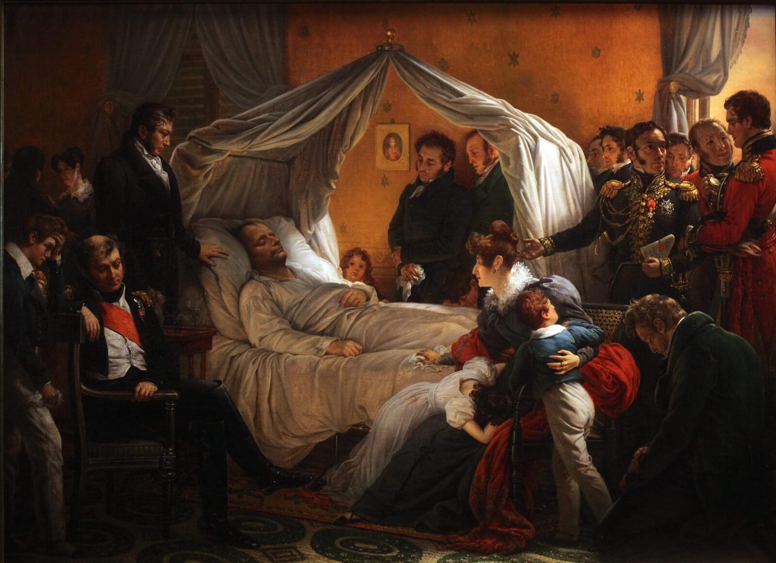 Muerte de Napoleón Steuben
