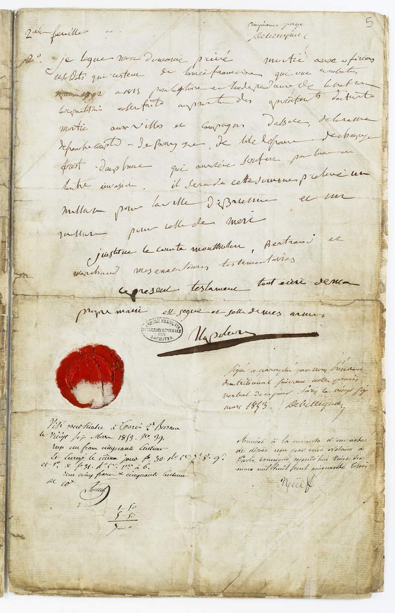 Testamento de Napoleón