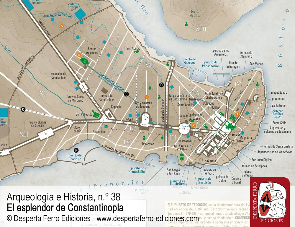 Año 543. Un viajero en Constantinopla por Blas Malo