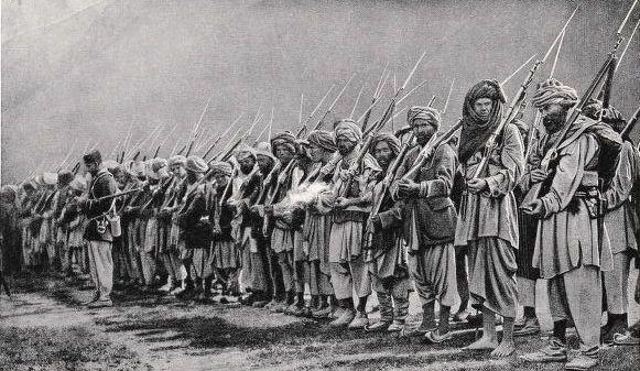 Guerreros afganos tercera guerra anglo afgana