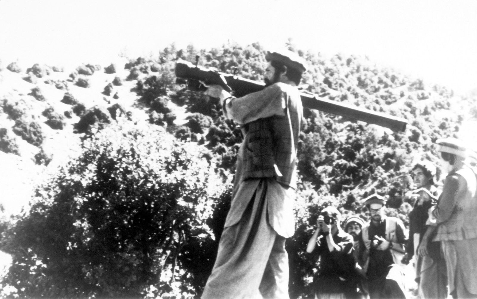 muyahidín afganistán