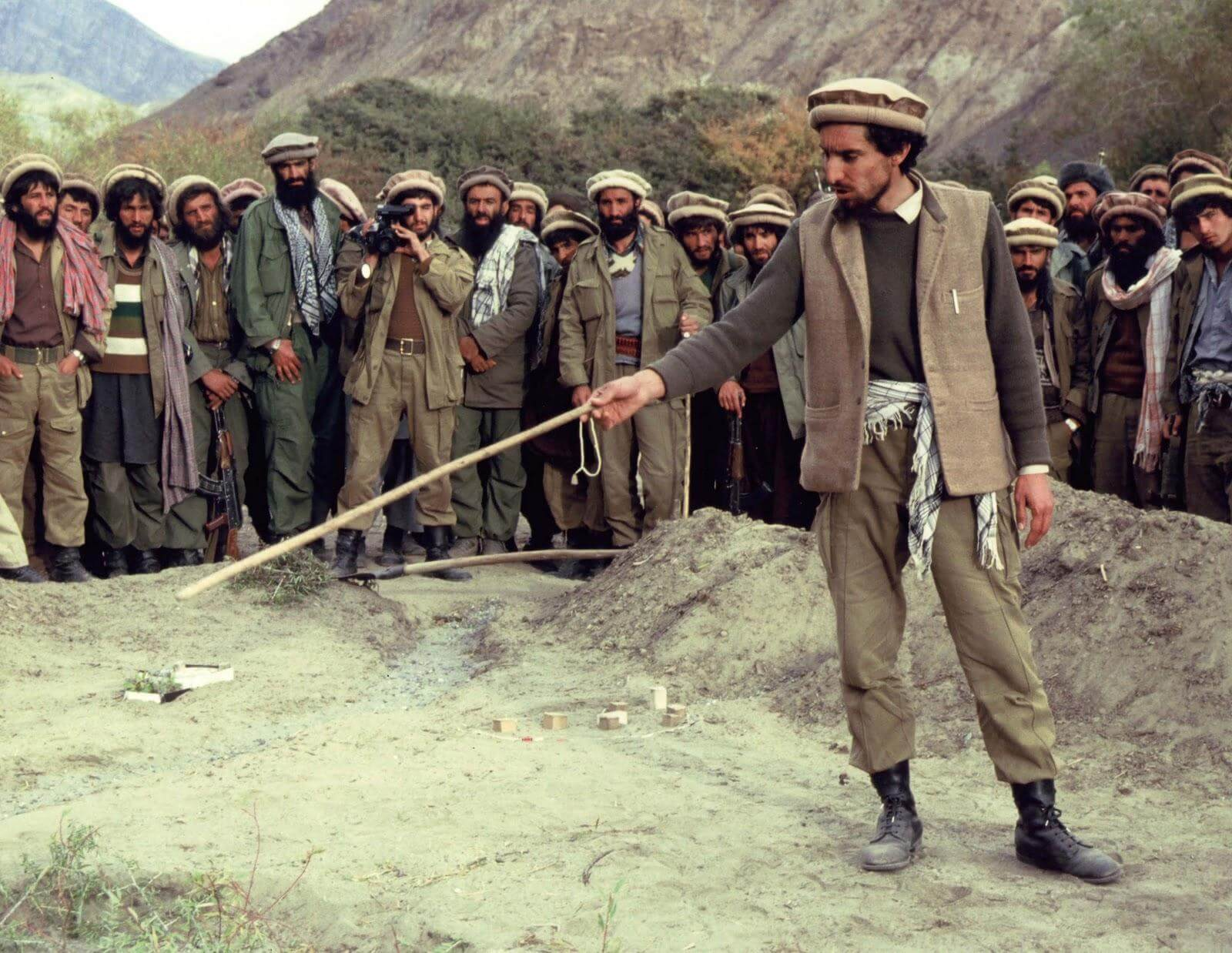 "Ahmed Shah Massud ""León del Panjshir"""