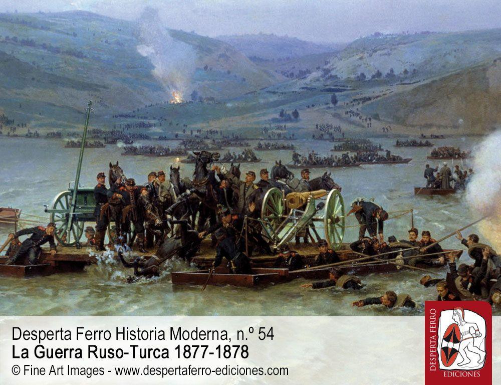 De los Balcanes al Cáucaso. guerra ruso-turca por Andrei Pogăciaș