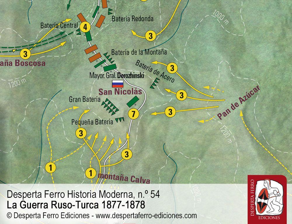 Las batallas del paso de Shipka por Alexander Statiev (University of Waterloo)