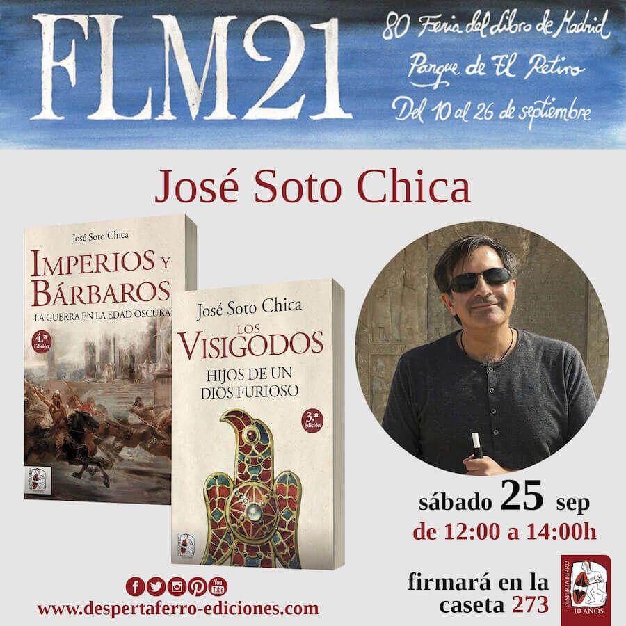 FLM Feria del libro de madrid 2021 José Soto Chica